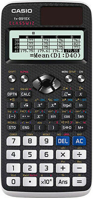 CASIO fx-991EX ClassWiz Advanced Scientific Calculator - 552 Functions