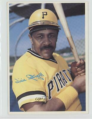 1980 Topps Super White Back Willie Stargell #1 HOF