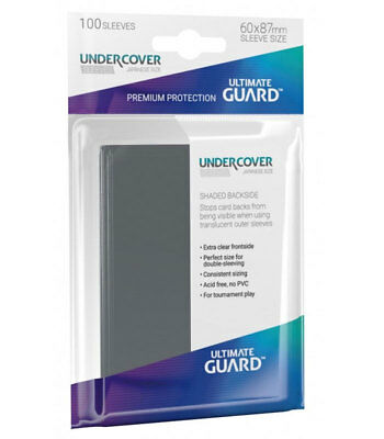 Ultimate Guard Undercover™ Sleeves Japaneses Size 100 Kartenhüllen Precise-Fit