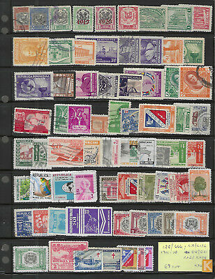 DOMINICAN REPUBLIC...#128//666 + BOB...1901/78...Collection of 69 Diff...Used