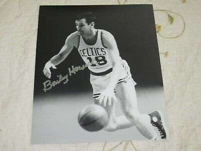 4e1e6bd43 BAILEY HOWELL AUTOGRAPHED Boston Celtics 8x10 Photo HOF 97 JSA 19078 ...