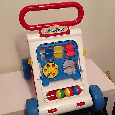 Fisher Price Trotteur trotteur fisher price vintage +++ - eur 39,90 | picclick fr