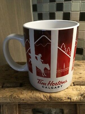 2016 Tim Hortons Calgary Series One Travellers Collection Large Tea Coffee Mug
