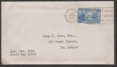 MOTON114     Old Cover (Envelope with letter never open.) Newfoundland Canada