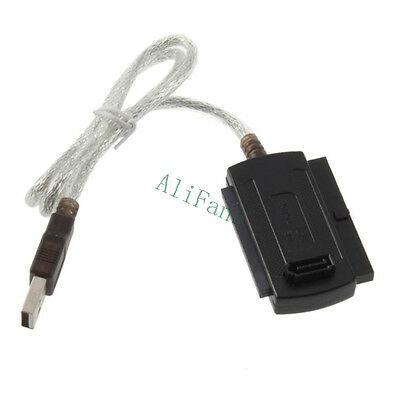New USB 2.0 to IDE SATA 5.25 S-ATA/2.5/3.5 480Mb/s data Interface Adapter Cable