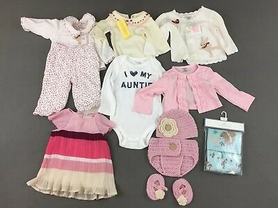 982a6064623c Baby Gap Carter s Janie and Jack Girls Baby 12 Piece Lot Size 0-12M Shirts