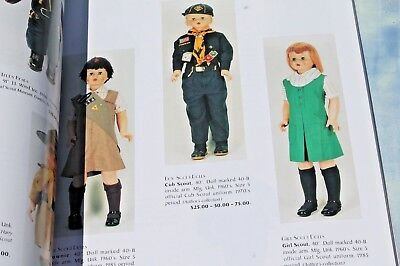 Dolls in Uniform by Joseph Bourgeois Collector's Guide, 1995 Paperback