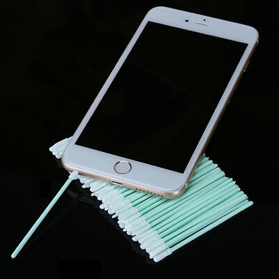 100Pcs/lot Cotton Swab Stick Mobile Phone Charging Tail Plug Port Headphone Hole