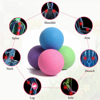New Body Pain Release Lacrosse Massage Ball Mobility Myofascial Trigger Point