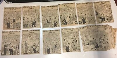 Room And Board 1936 Newspaper Comic Daily About 108 Strip/Panel MH