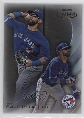2016 Topps Gold Label Class 1 #26 Jose Bautista Toronto Blue Jays Baseball Card