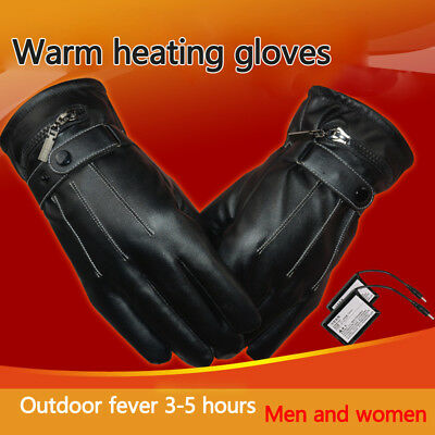 6000mAh Rechargeable Battery Electric Heated Hands Motorcycle Gloves Winter