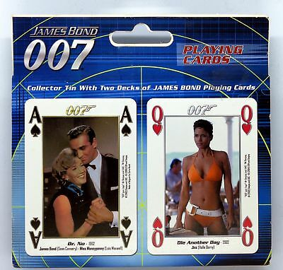 James Bond Playing Cards, 2 Decks with Collector Tin - 40th Anniversary