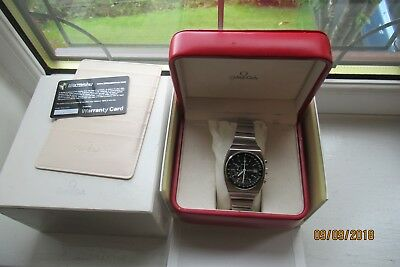 Omega Speedmaster 125 automatic chronometer date Cal1041 only 2000 made in 1973