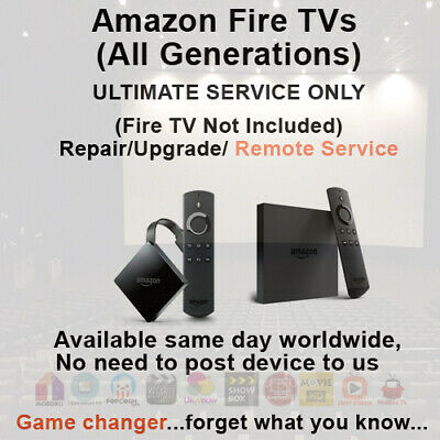 Amazon Fire TV Remote Install & Upgrade Service IPTV & VPN available too