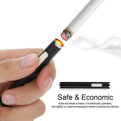 Rechargeable Electronic Lighter Dual Arc Windproof Flameless Cigarette Lighter