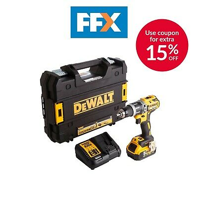 DeWalt DCD796P1-GB XR Brushless Combi Drill 18v 1 x 5.0Ah Li-Ion