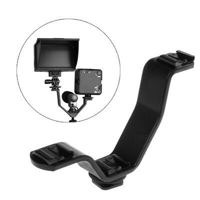 V-Shape Lights Triple Mounting Bracket For DSLR Microphone Monitor Accessories
