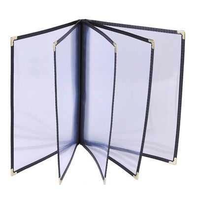 """20PCS Restaurant Hotel Cafe Bar Menu Covers 5 Page 10 View 8.5""""x14"""" Fold Book"""