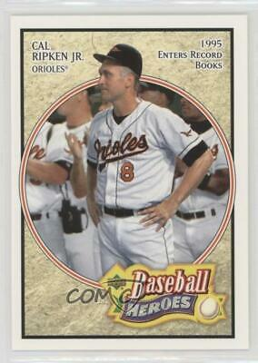 2005 Upper Deck Baseball Heroes 14 Cal Ripken Jr Baltimore