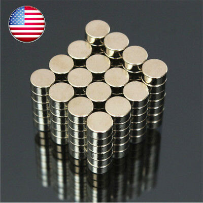 10 50 100Pcs Super Strong Round Magnets Rare-Earth Neodymium Magnet N35/N50