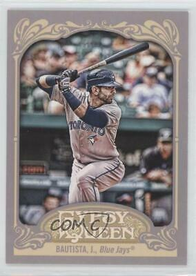 2012 Topps Gypsy Queen #110.2 Jose Bautista (Batting) Toronto Blue Jays Card