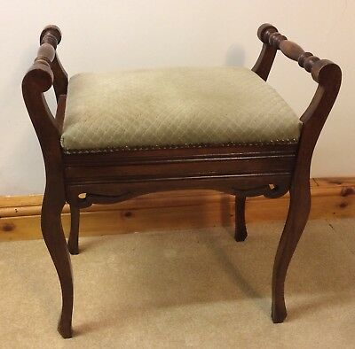 antique piano or dressing table stool