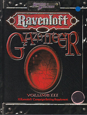 Sword & Sorcery - Ravenloft Volume III: Gazetteer