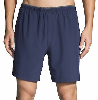 Brooks Sherpa 7 Inch 2 in 1 Mens Running Shorts - Blue