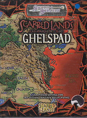 Sword & Sorcery - Scarred Lands: Ghelspad. Campaign Setting
