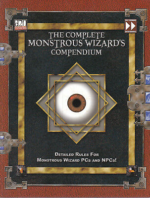 d20 System - The complete Monstrous Wizard's Compendium