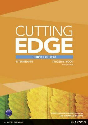Cutting Edge 3rd Edition Intermediate Students' Book and DVD Pack 9781447936879