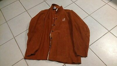 Vintage Elliott Glove Co Leather Welding Jacket - Large