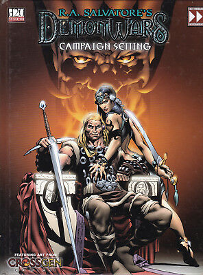 d20 System - R. A. Salvatore's Demon Wars. Campaign Setting