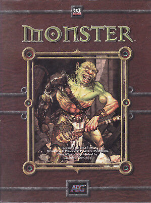 d20 System - Monsters. Tooth - Claw - Fang. Supplement for D&D 3rd Edition
