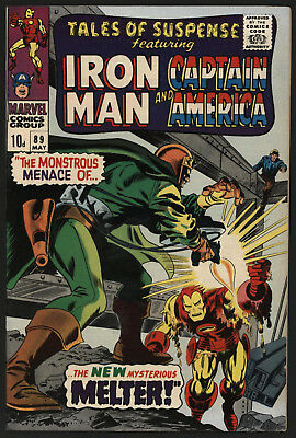 Tales Of Suspense #89 May 1967. Very Tight Structure, White Pages
