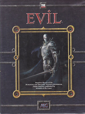 d20 System - Evil. Greed - Power - Corruption. Supplement for D&D 3rd Edition