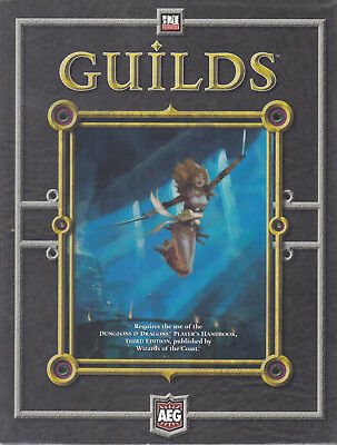 d20 System - Guilds. Master - Journeyman - Apprentice. Supplement for D&D 3rd Ed