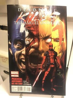 Deadpool Kills the Marvel Universe #1 Oct 2012 Marvel First Print