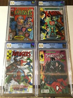 Cable 150 X-men Gold 13 Avengers 672 Spider-gwen 25 Cgc 9.9 Variant Not 9.8