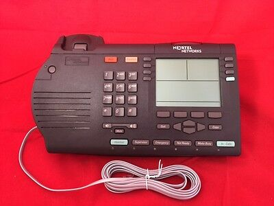 Avaya Nortel M3905 Charcoal Phone - Free Shipping - Excellent Condition