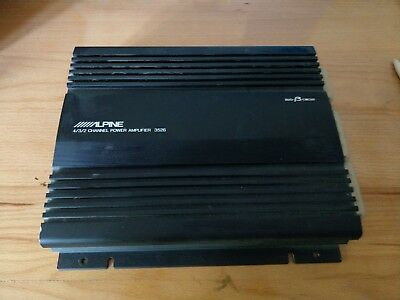Alpine Power Amplifier 3526 Endstufe