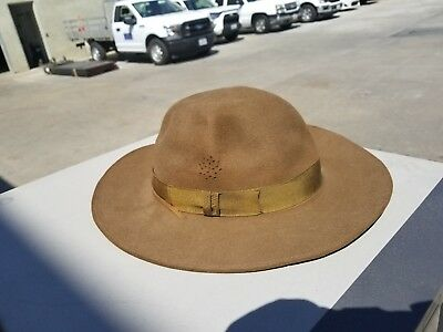Vintage Boy Scouts Of America Leaders Hat Size 6 7/8
