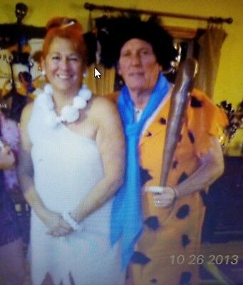 fred and wilma flintstone costume set 38 95 picclick
