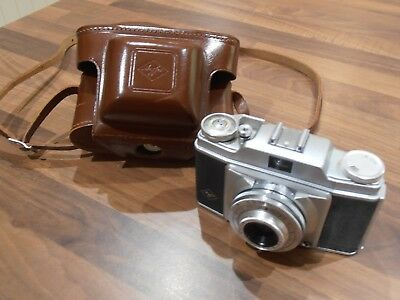 Vintage Agfa Silette Pronto Camera with Case