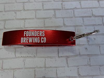Key Chain Metal Bottle Opener ~*~ FOUNDERS Brewing Co ~*~ Grand Rapids, MICHIGAN