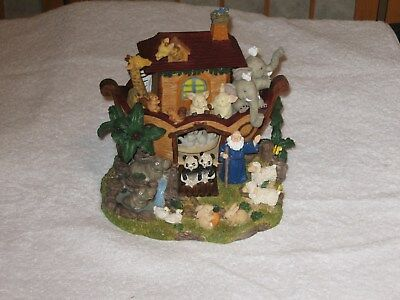 San Francisco Music Co. Noah's Ark Music Box, Plays The Lord's Prayer NEW IN BOX