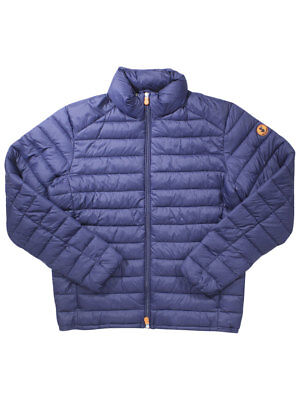 Save The Duck Men's Quilted Long Sleeve Jacket