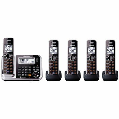 Panasonic Link2Cell KX-TG7875S DECT 6.0 1-Line Bluetooth Cordless Phone with