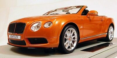 "BBR 1/18 Bentley Continental GT V8 S Convertible ""Sunrise"" Limited 20 pcs. P1877"